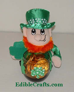 Easy Leprechaun craft with candy