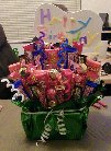 Unique birthday gifts - candy basket