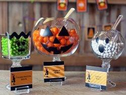 halloween candy buffet ideas diy monster jars - Halloween Buffet Food Ideas